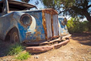 get rid junk car without title