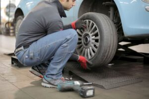 tools needed to change a tire
